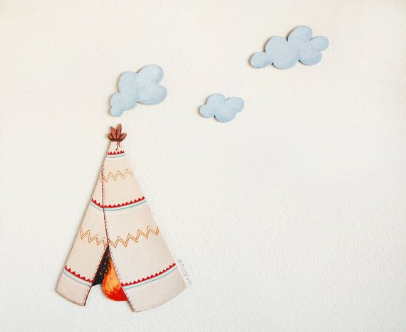 best smoke signals ideas smoke photography  teepee smoke signals wall art on nursery kids decoration