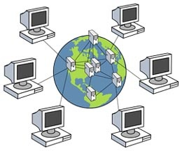 A WIDE AREA NETWORK (WAN) is a NETWORK THAT COVERS A LARGE GEOGRAPHIC AREA such as a city, the country, or the world, using a communications channel that combines many types of media such as telephone lines, cables, and radio waves.