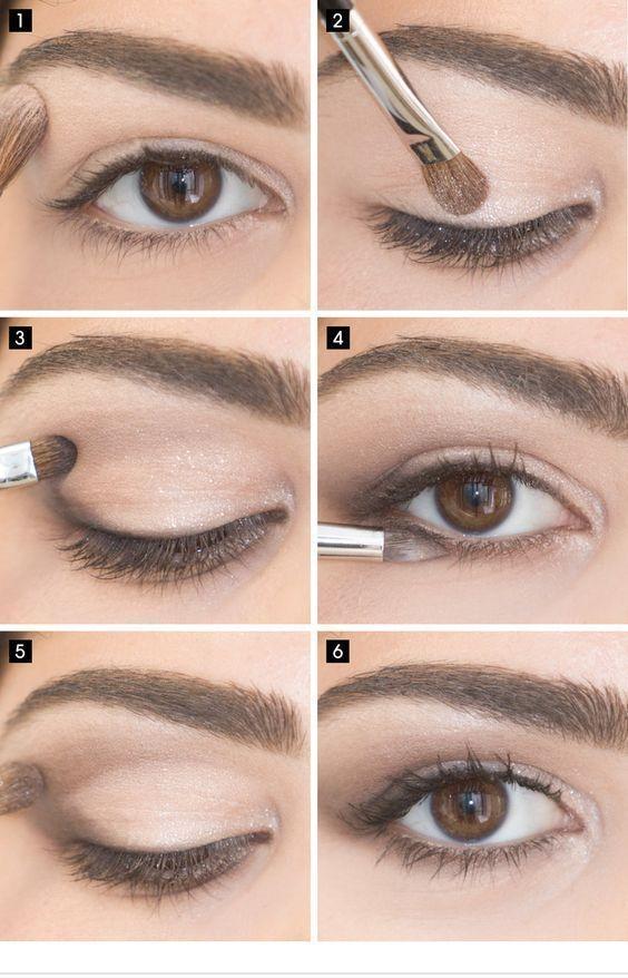 15 Einfache Augen Make-up-Ideen für die Arbeitskleidung