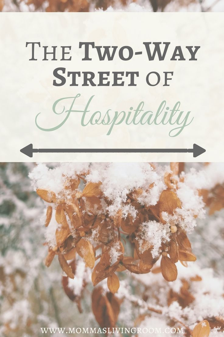 The Two-Way Street of Hospitality