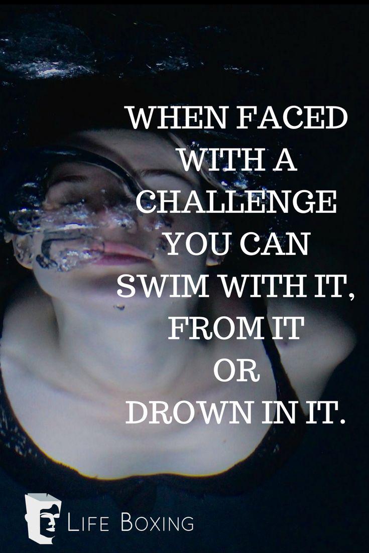 Keep on swimming!