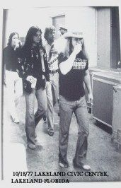 ~Ronnie Van Zandt of Lynyrd Skynyrd had expressed interest in producing the band's third album, shortly before his death in 1977. Description from pinterest.com. I searched for this on bing.com/images
