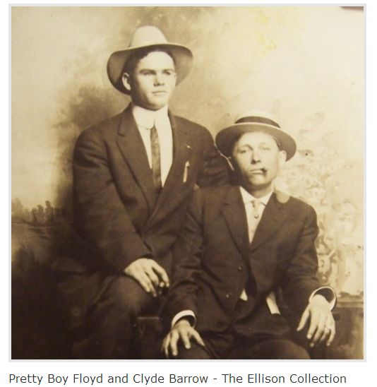 Pretty Boy Floyd and Clyde Barrow