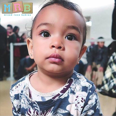 African Asian Mixed Race Baby