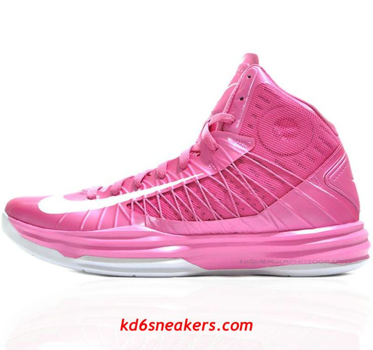 Nike Hyperdunk 2012 Breast cancer Basketball shoes