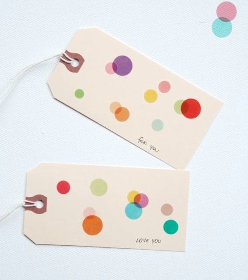 love shipping tags: Craft, Gift Wrapping, Diy Gift, Gifts, Card, Gift Tags, Dots