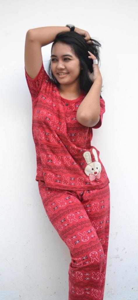 Merah Maroon | Rp 44.100 | Lengan Pendek |  Celana Panjang | SMS: 0813-2776-3456 | Skype: shinta.onlinestore | YM: shinta.onlinestore