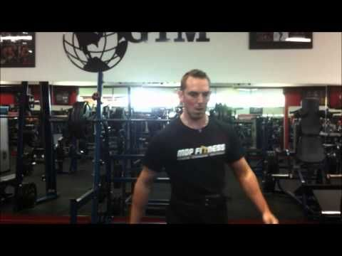 Leg Day Session MDP Fitness - YouTube