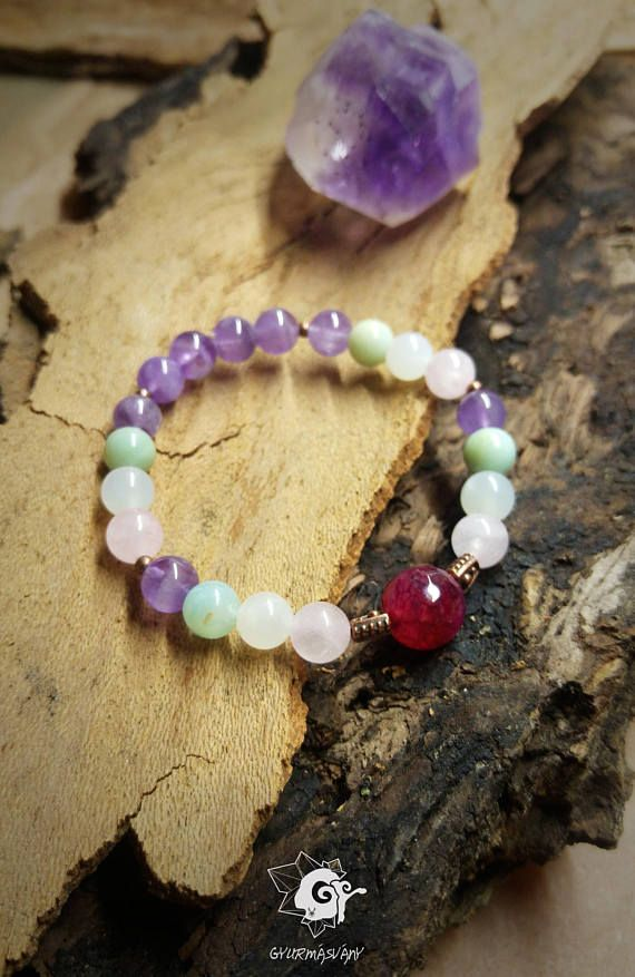 Hey, I found this really awesome Etsy listing at https://www.etsy.com/listing/568960442/bracelet-with-rose-quartz-amethyst