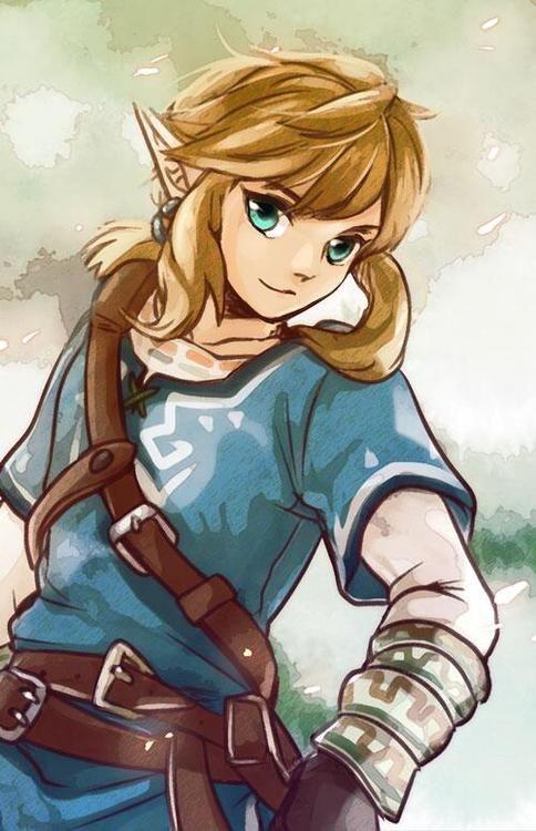 Zelda U 2015 - Link