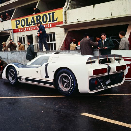 ford gt j car at the le mans 1966 test weekend it never raced after