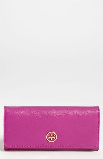 Tory Burch 'Robinson' Envelope Continental Wallet available at #Nordstrom