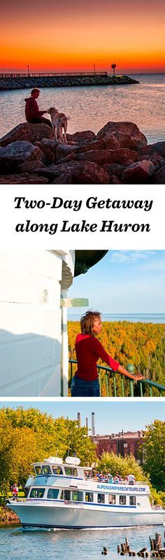 Michigan has the longest freshwater coast in the United States, and its Lake Huron shoreline invites adventure-seekers to lose themselves in maritime exploits: http://www.midwestliving.com/travel/michigan/two-day-getaway-along-the-lake-huron-shoreline/ #michigan #vacation #lakehuron #greatlakes