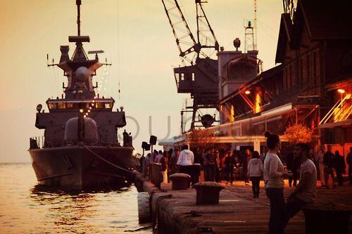 thessaloniki, port •visit my blog: koupiyi@tumblr.com