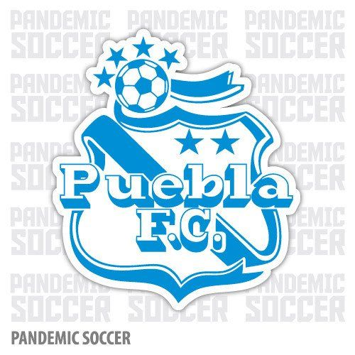 Puebla FC Mexico Liga MX Camoteros Vinyl Sticker Decal Calcomania
