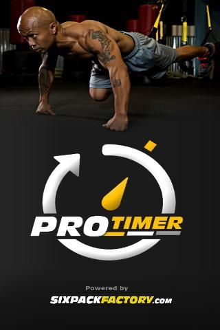 ProTimer is a professional yet easy to use Workout Interval Timer by Sixpackfactory.com<p>ProTimer is perfect to use with any type of interval workouts such as cardio workout, weight training workouts, kettle bells, tabata workouts or home workouts.<p>Alt