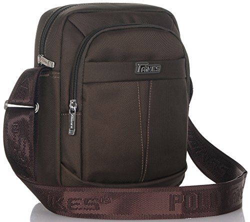 TAIKES Men's Shoulder Travel Messager Bag Crossbody Ipad ...