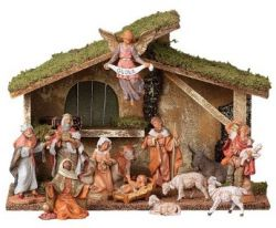 Fontanini Nativity Set. I've been adding to my collection for years <3