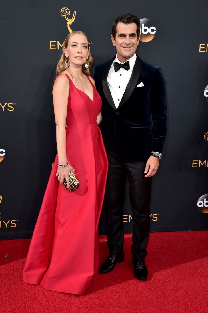 Hollywood Couples Raked In Some Cute Moments at the Emmys Ty and Holly Burrell