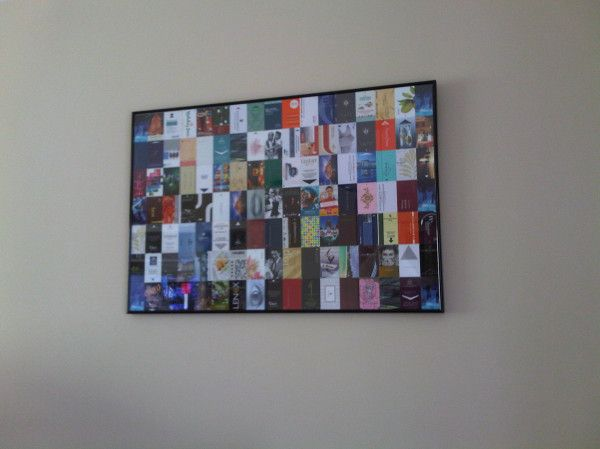 Glen of The Script did this with his hotel key cards - brilliant!