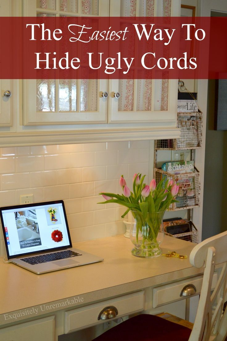 The Easy Way To Hide Cords