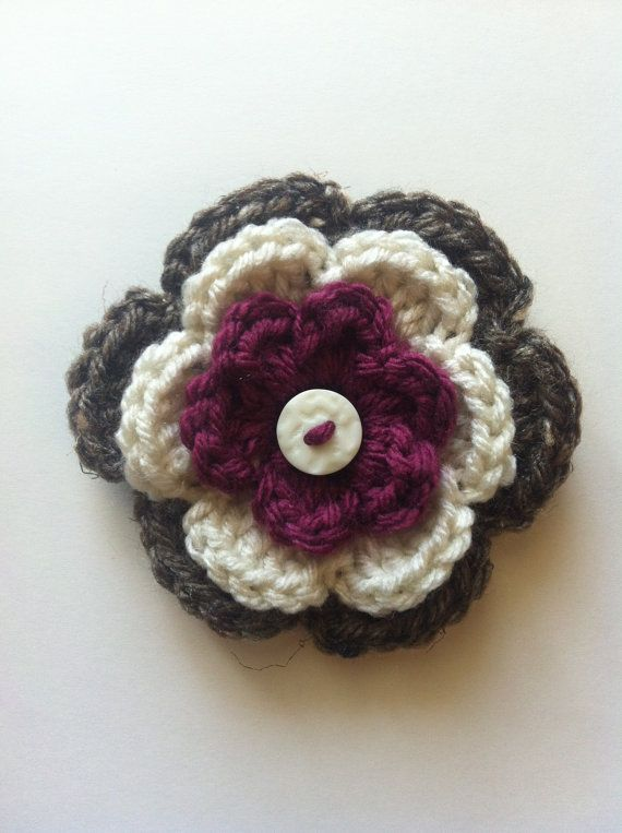 Crochet Hair Clip Ideas : crochet ideas crochet hairclips chrochet headbands met knope the bears ...
