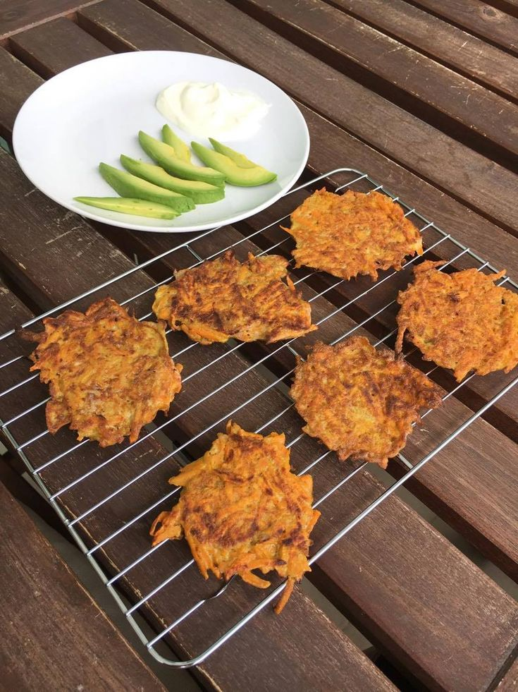 3-Ingredient Sweet Potato Fritters - Baby Led Weaning Ideas