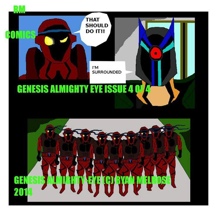 Genesis Almighty-Eye #4 full comic