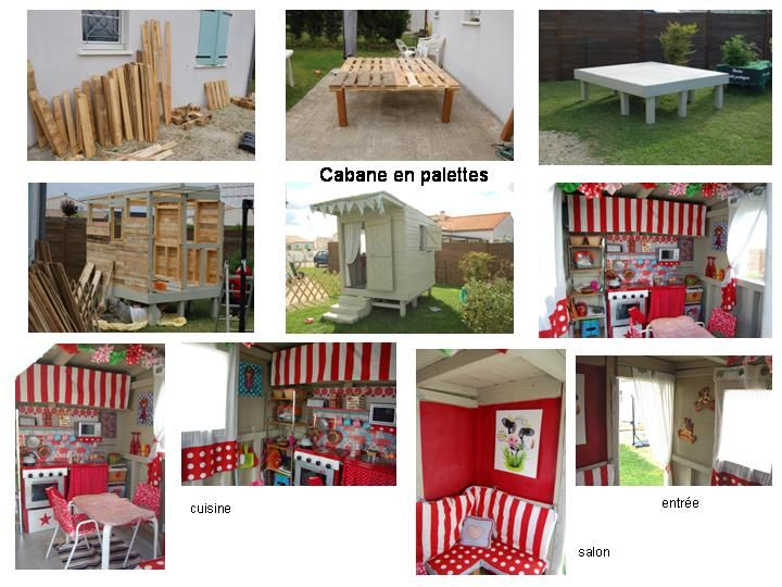 diy cabane en palette enfants pinterest bricolage. Black Bedroom Furniture Sets. Home Design Ideas