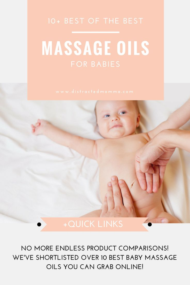 Time to uncover the best baby massage oils available online!