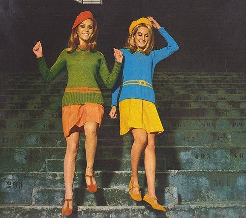 Colour Blocking in het Sixties :)