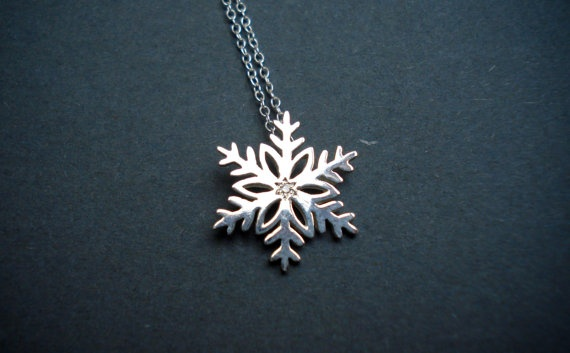 Winter Wonderland Snowflakes with Diamonds $80
