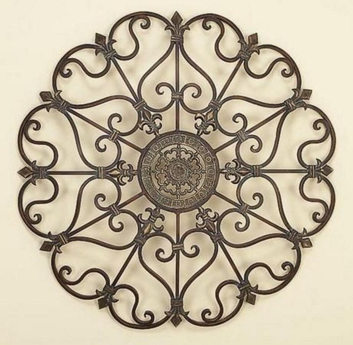 Kirklands Large Wall Decor : Ideas about iron wall decor on wrought