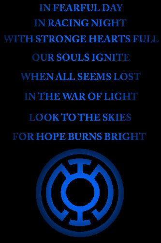 red lantern oath - Google Search