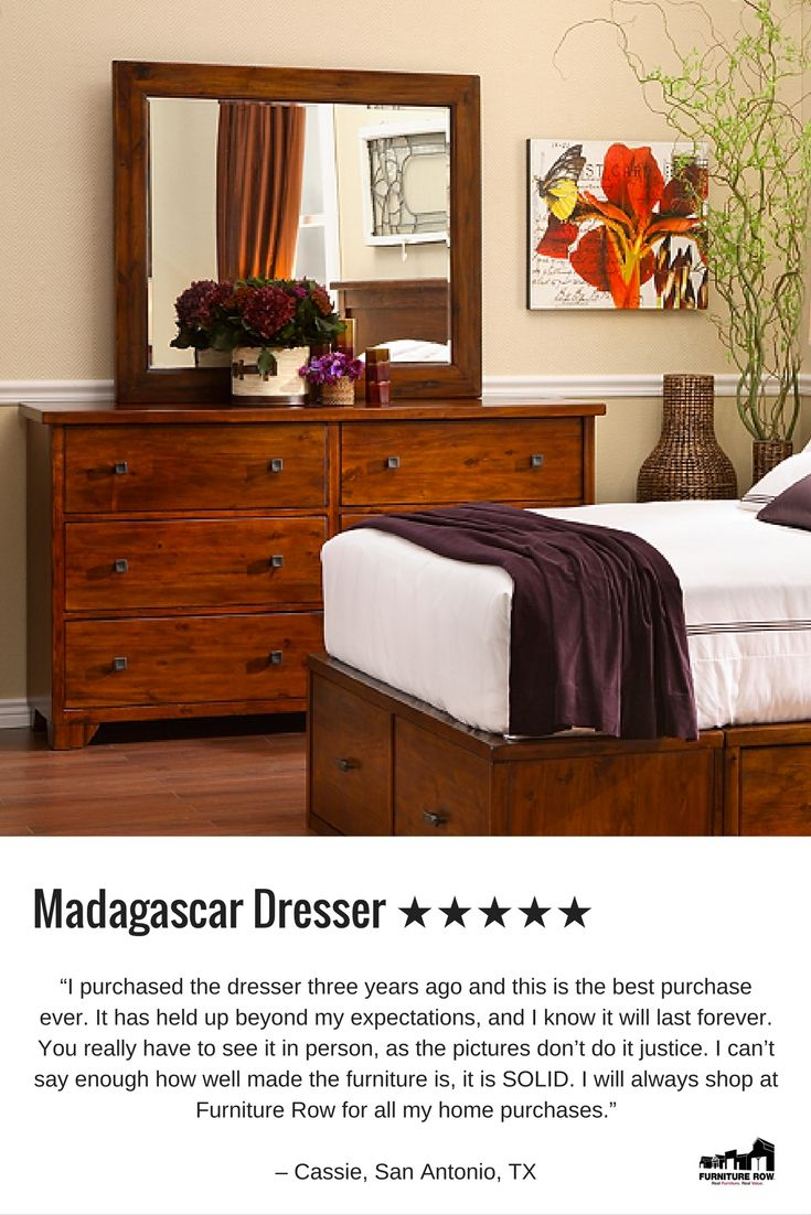 furniture row bedroom sets. Best Reviewed Dresser  Madagascar dresser is handcrafted out of rich acacia solids and veneers 150 best SLEEPING images on Pinterest Bedroom expressions