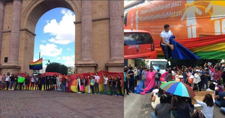 """<p>- El """"Autobús de la Libertad"""" ha recorrido ya varias localidades promoviendo la defensa a la familia tradicional, y este jueves tocó"""