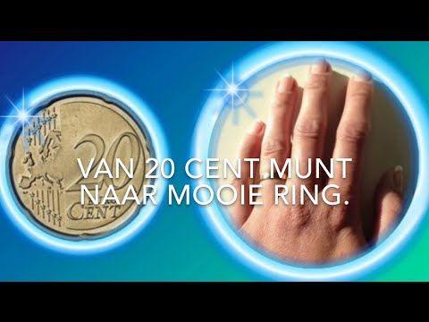 Maak van een munt een mooie ring (make from a coin a beautiful ring)