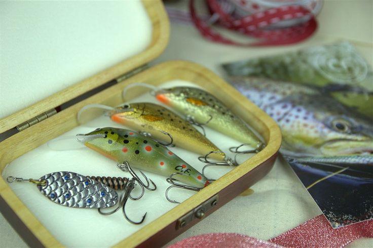Prezent do 500 zł - zestaw unikalnych przynęt handmade dla wędkarza łowiącego w rzece, jeziorze lub podlodowo. #wędkarstwo #zestawy #prezenty #przynęty #handmade #rękodzieło