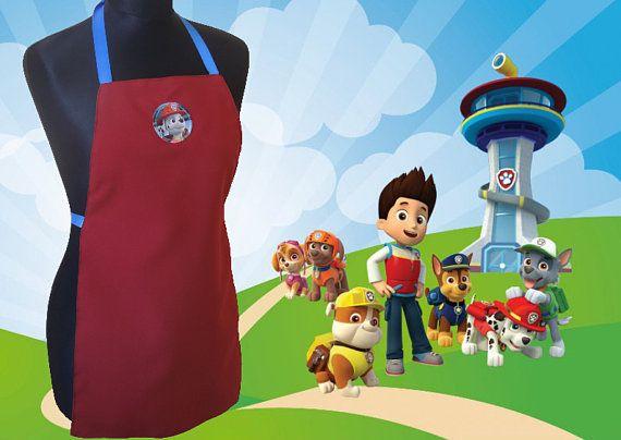 Grembiule per bambini Paw Patrol Marshall children apron