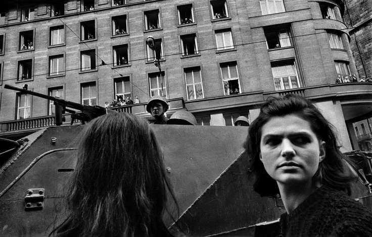 Josef Koudelka - Czechoslovakia, Prague, Invasion by Warsaw Pact troops. - 1968.