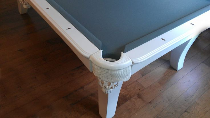 pale blue pool table | Furniture: Very Level Pool Table And A Recover In Blue Strachan Cloth In Blue Pool Table Uk Blue ...