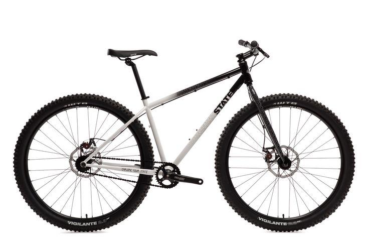 "Pulsar SS 29er Mountain Bike Frame & Fork: 4130 Chromoly Steel w/ ""Pulsar"" graphics by DKLEIN Wheels: WTB SX 19 29'' Rims - 32H Disc Hubs Tires: WTB Vigilante 29'' x 2.3'' Crank: Truvativ E 400 w/ 32t"