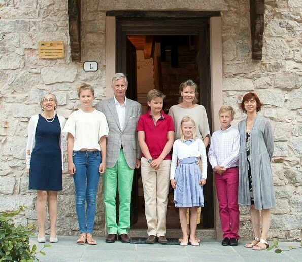 Belgian royal family is currently in Piedmont region of Italy in order to have their summer holiday of 2016. Belgian royal family including King Philippe, Queen Mathilde and their children Princess Eleonore, Prince Gabriel, Crown Princess Elisabeth and Prince Emmanuel visited Maritime Alps Natural Park (Parco naturale Alpi Marittime) and Gesso Valley in Piedmont region of Italy.