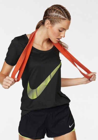 Nike Funktionsshirt »WOMEN NIKE DRY TEE LEG PYRAM SWOOSH«