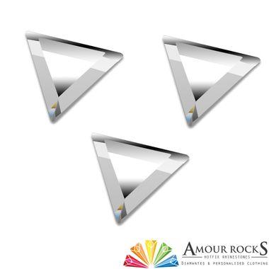 Trillion Cut Crystal Hotfix Rhinestone Shapes