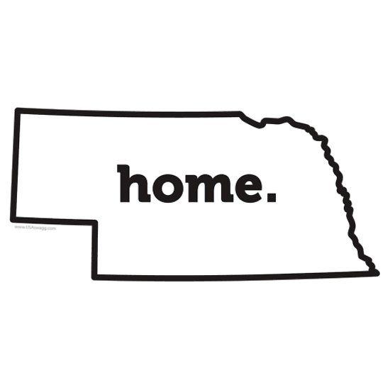 Nebraska State Outline Shop Nebraska State Gear: http://www.carolinaswagger.com/states/nebraska.html