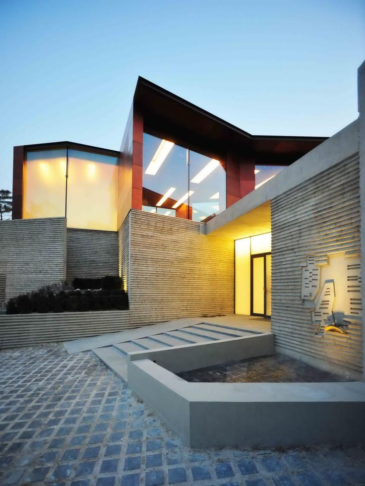 Daeyang Gallery and House – Steven Holl - Korea