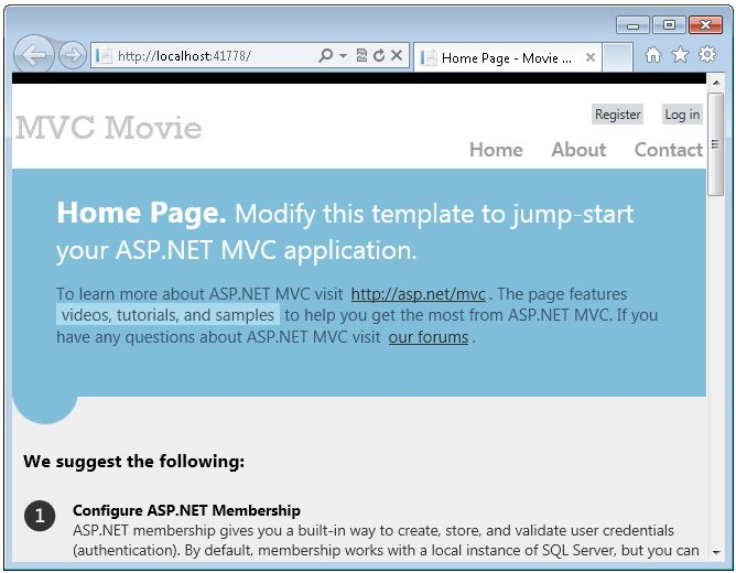 5 Minute Introduction to ASP.NET MVC