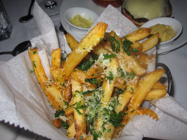 Truffle Parmesan Fries | starters, snacks & sides | Pinterest