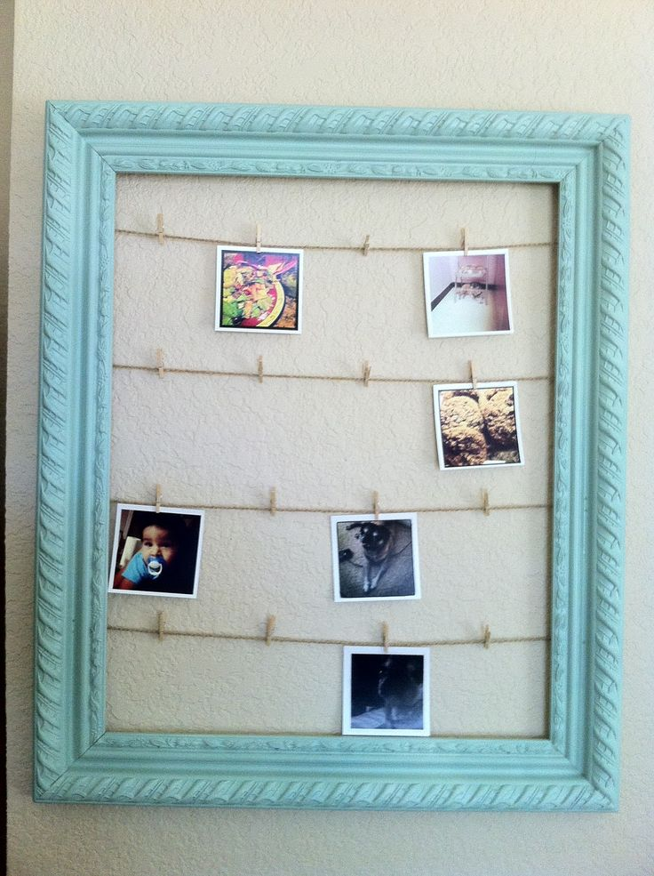 clothespins photo display laundry room - Google Search